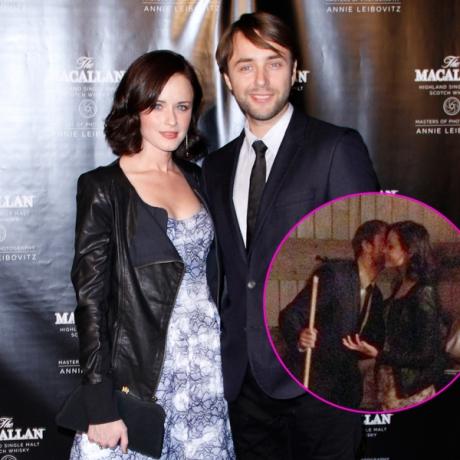 PIC: Mad Men Couple Alexis Bledel and Vincent Kartheiser ...