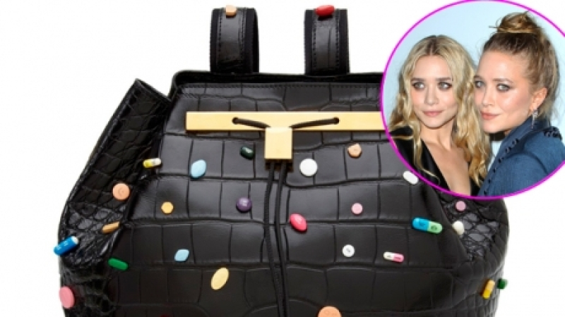 See Mary Kate And Ashley Olsen S 55 000 Pill Covered Bag Photo Life Style
