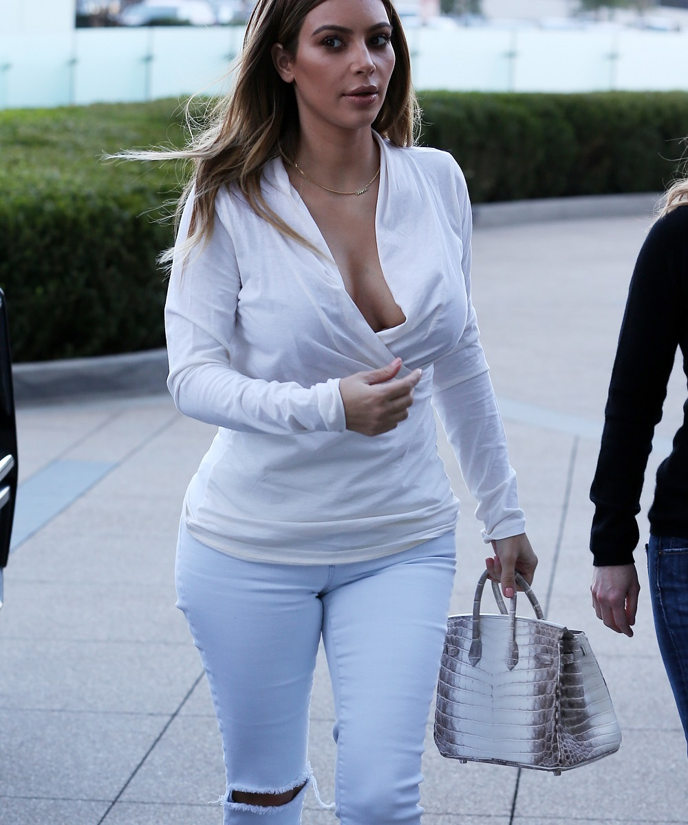 c9e0d8f3e1344 Kim Kardashian's Super-Tight Pants Don't Exactly Work - 7 of Her Biggest  Style Mishaps - Life & Style