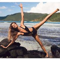 13 Times Gisele Bundchen Has Showed Off Her Yoga Skills on
