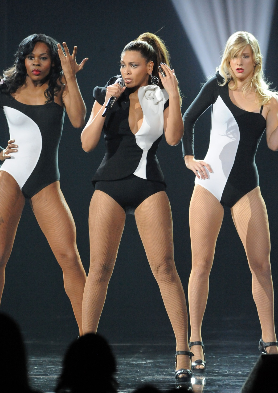beyonce and heather morris