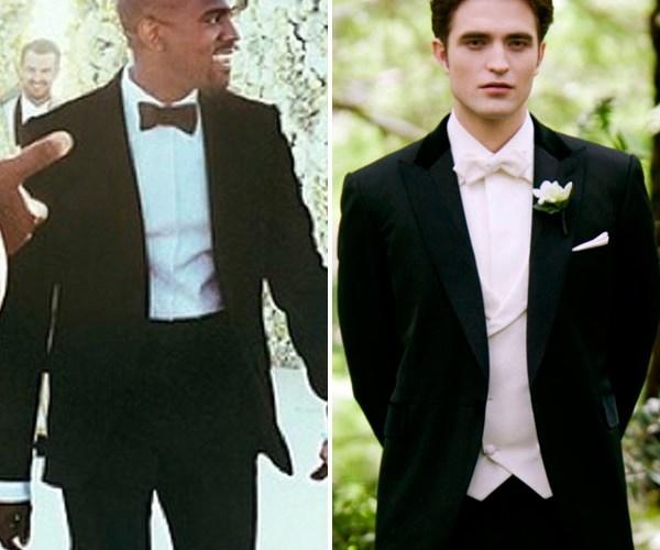 kim kardashian kanye west wedding twilight