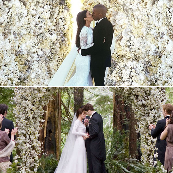 Kim Kardashian Wedding Kanye: Kim Kardashian And Kanye West's Italian Wedding