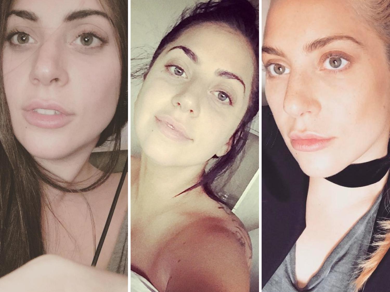 Lady Gaga Without Makeup Her Best Makeup Selfies 2018