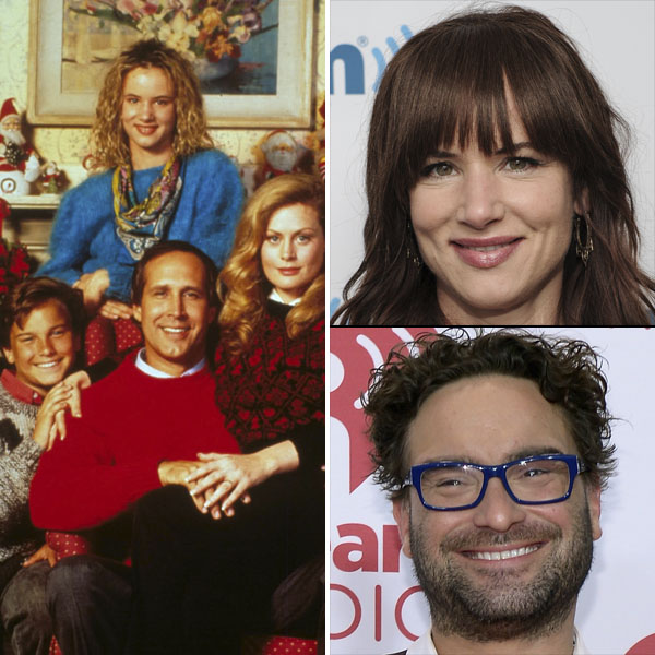 Johnny Galecki Christmas Vacation.Jingle All The Way And 12 More Christmas Movie Kids All