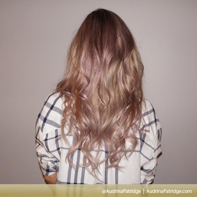 audrina patridge dyes hair