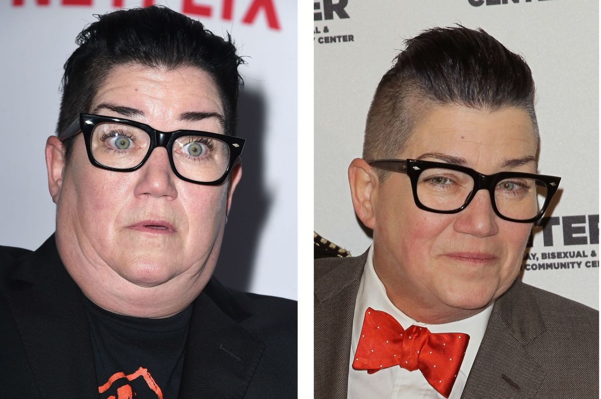 lea delaria before and after
