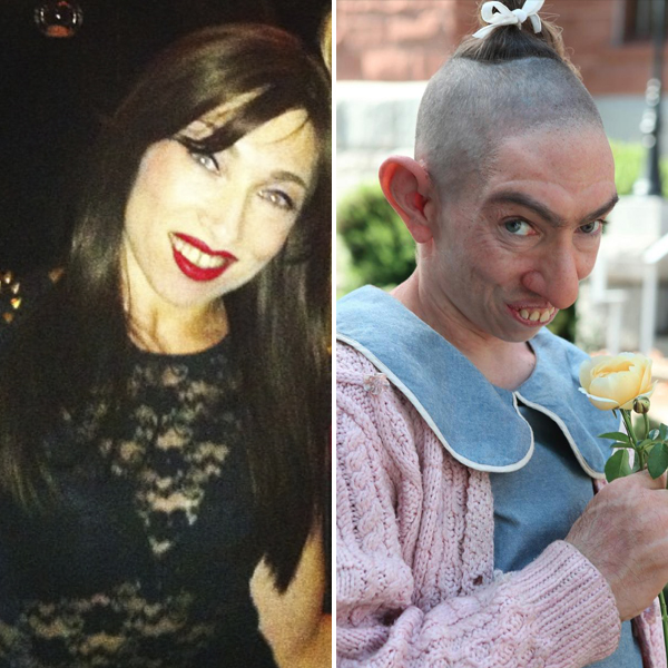 Meet Naomi Grossman, the Beautiful Gal Who Plays Scary Pepper on