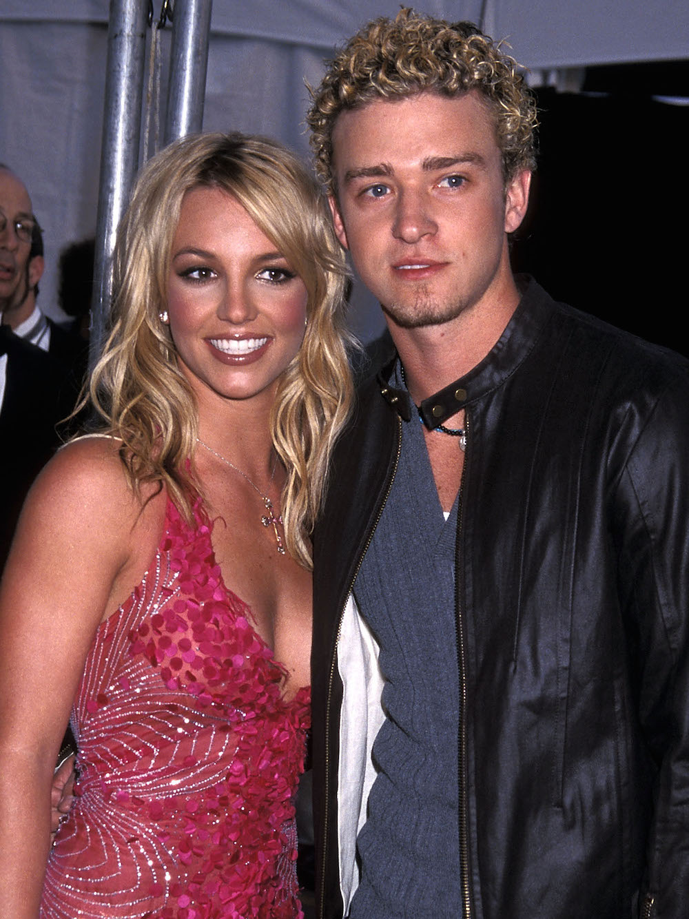Britney Spears and Justin Timberlake at a premiere together.
