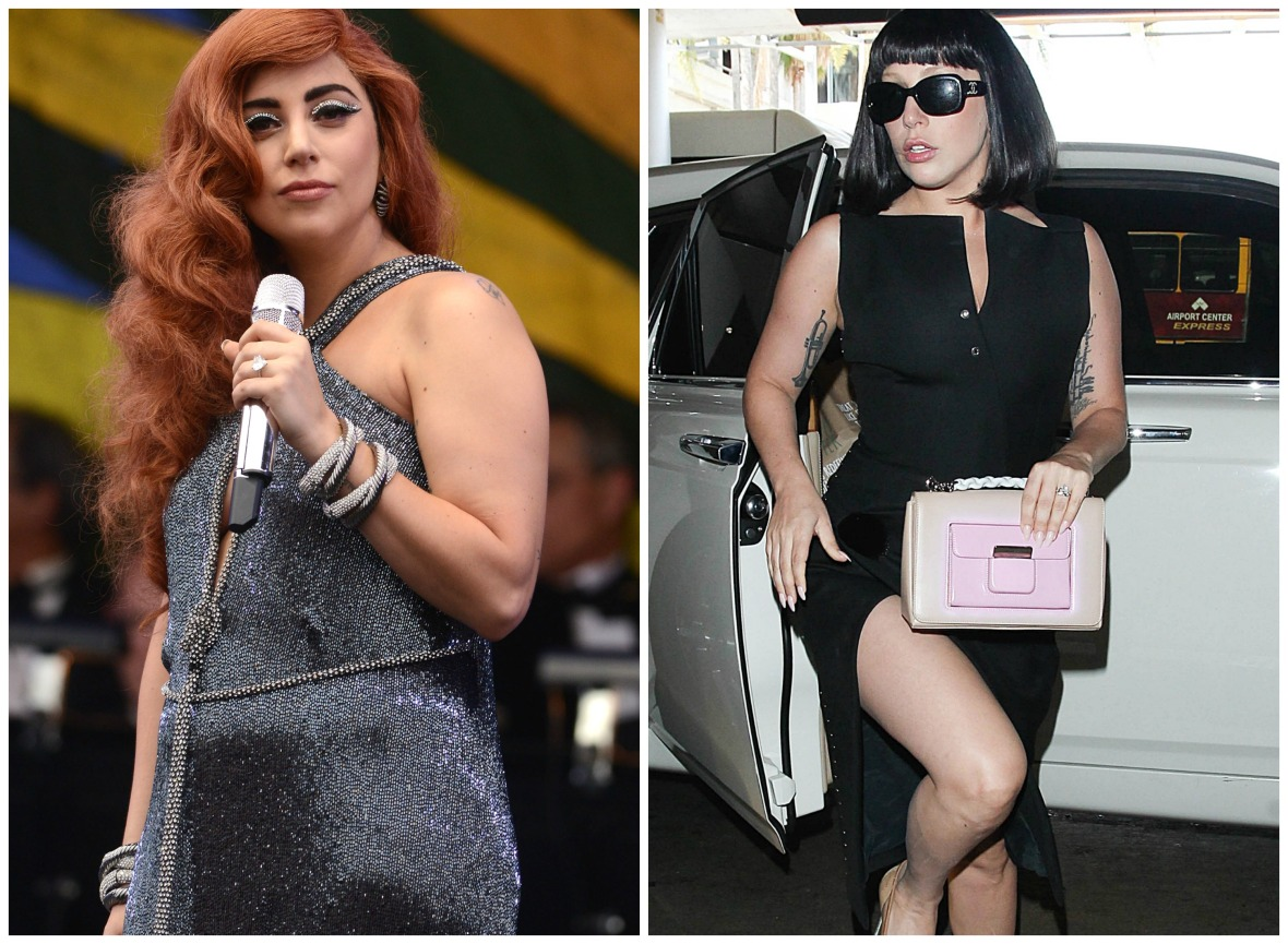 lady gaga side by side