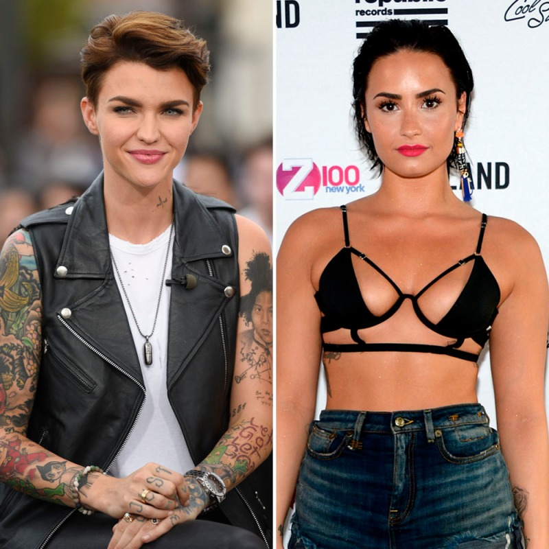 Ruby Rose Once Claimed She Hooked Up With Demi Lovato