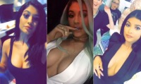 kylie-jenner-snapchat-cleavage