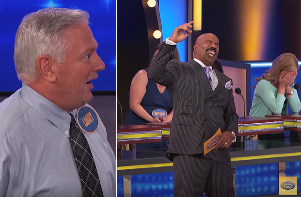 Man's Answer on 'Family Feud' Embarrasses Family and Leaves Steve