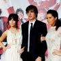 Ashley Tisdale, Zac Efron and Vanessa Hudgens on Red Carpet
