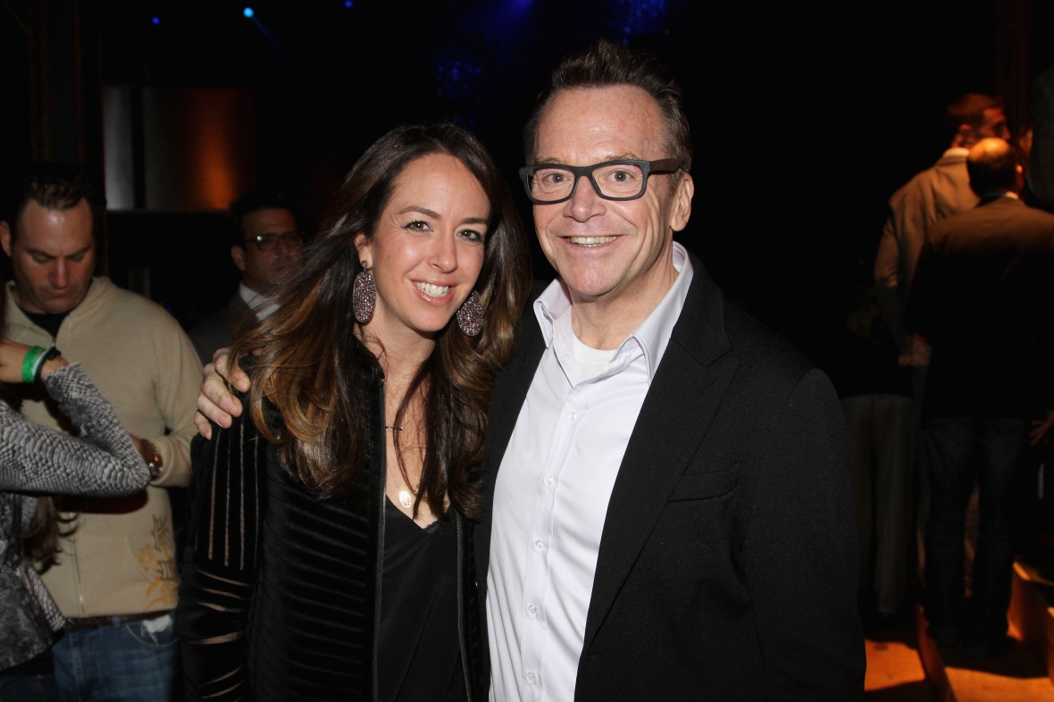 tom arnold & wife