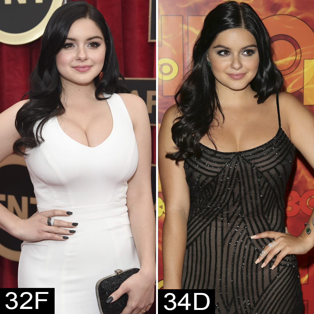 Ariel Winter Drew Barrymore And More Stars Who Have Had Breast