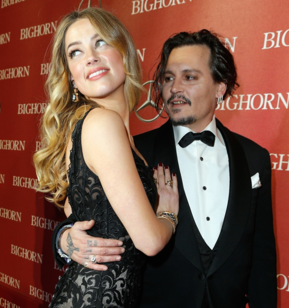 johnny depp amber heard getty images
