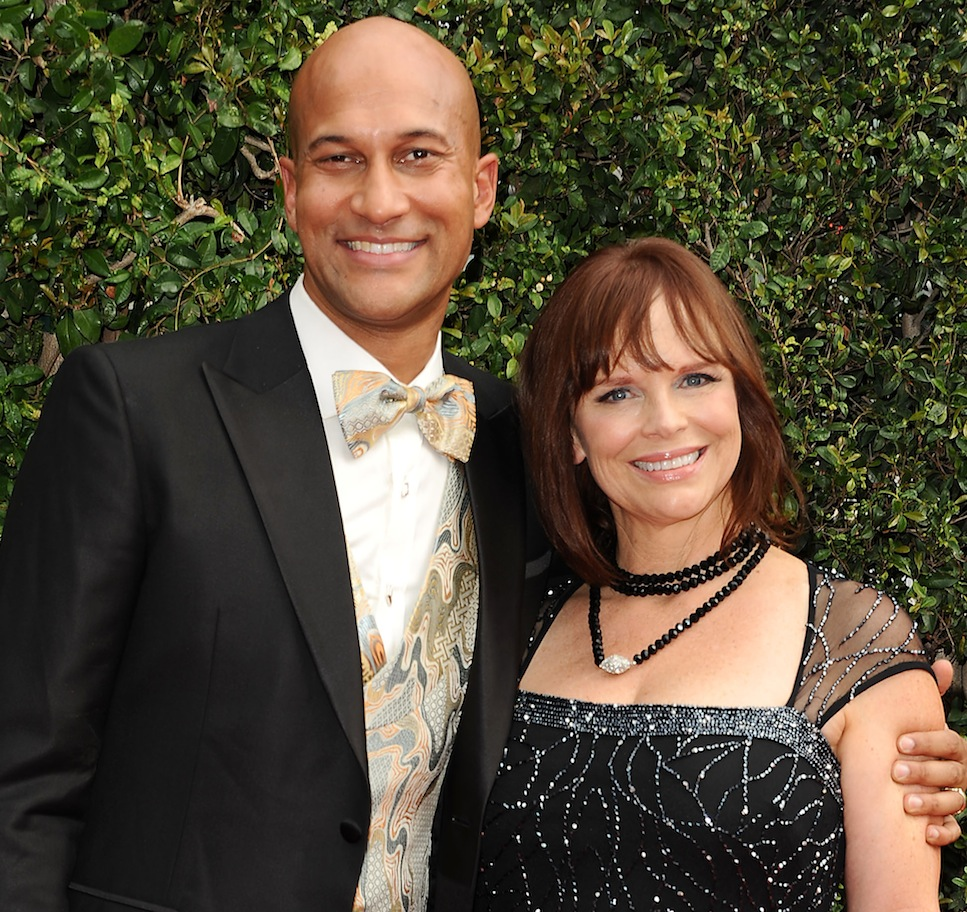 keegan michael key and his wife