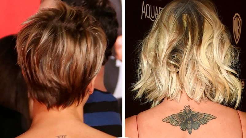 ffb548fe4 Rihanna, Kaley Cuoco, and More Celebrities Who Have Had Their Tattoos  Covered Up After a Breakup - Life & Style