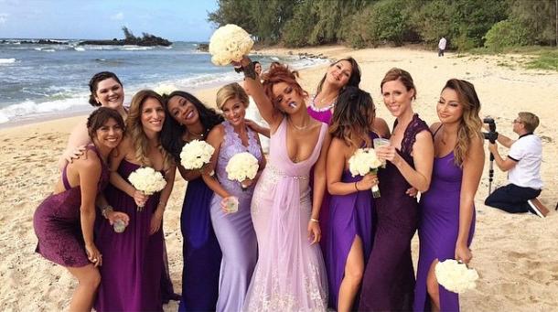 rihanna-bridesmaid