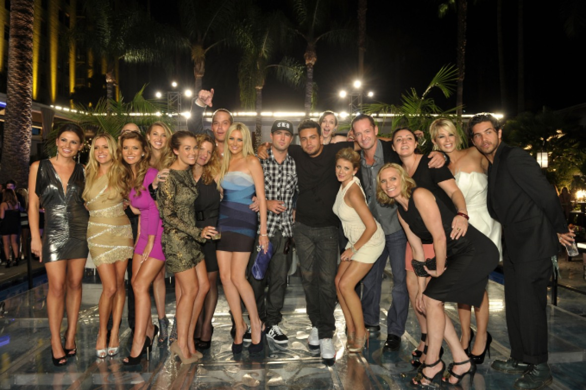 the hills cast partygetty images