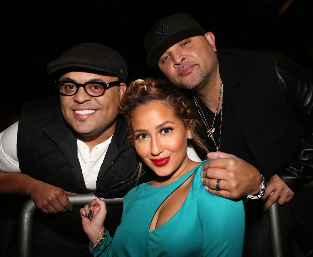 adrienne bailon israel houghton getty images