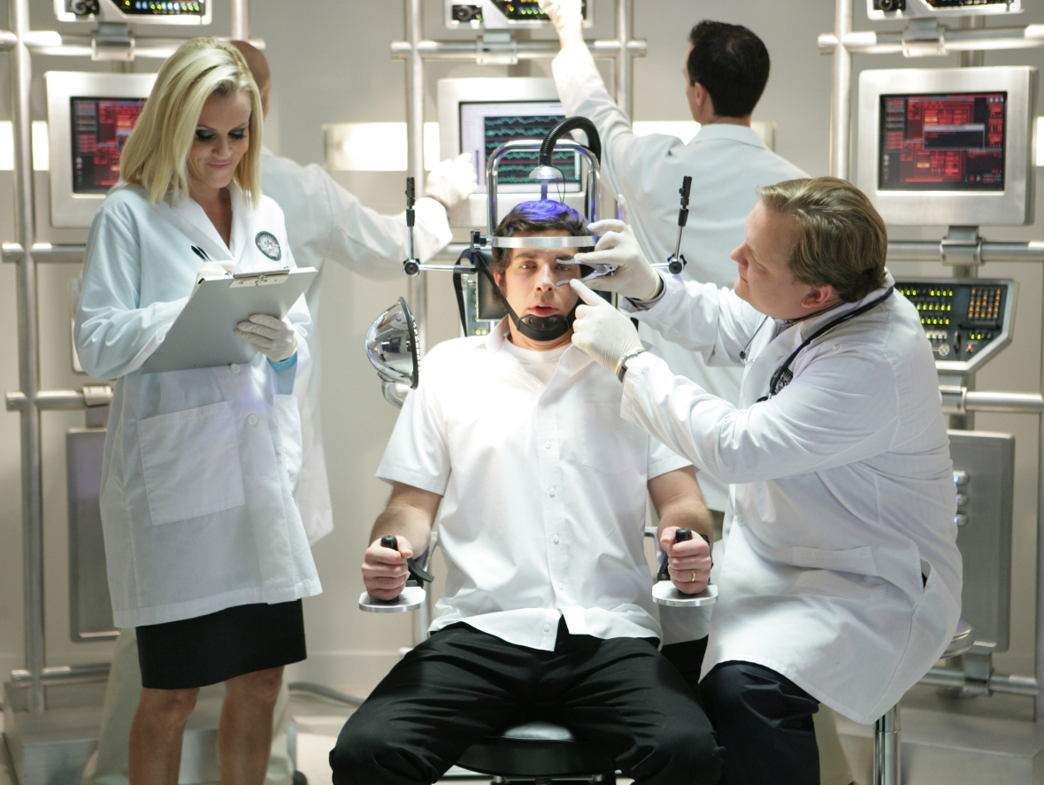 jenny mccarthy and andy richter on chuck