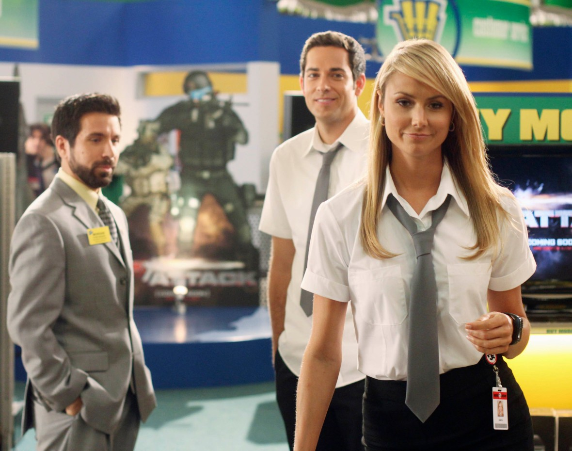 stacy keibler on chuck