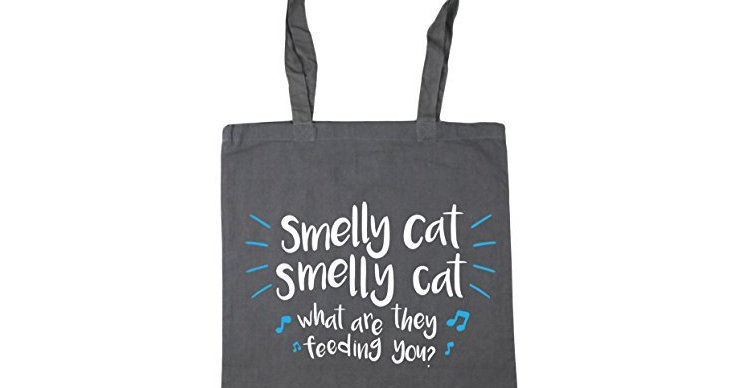 friends smelly cat tote