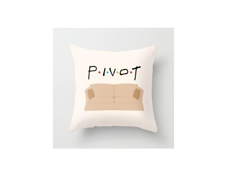 friends pivot pillow