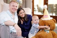 Catherine Giudici, Sean Lowe and Son