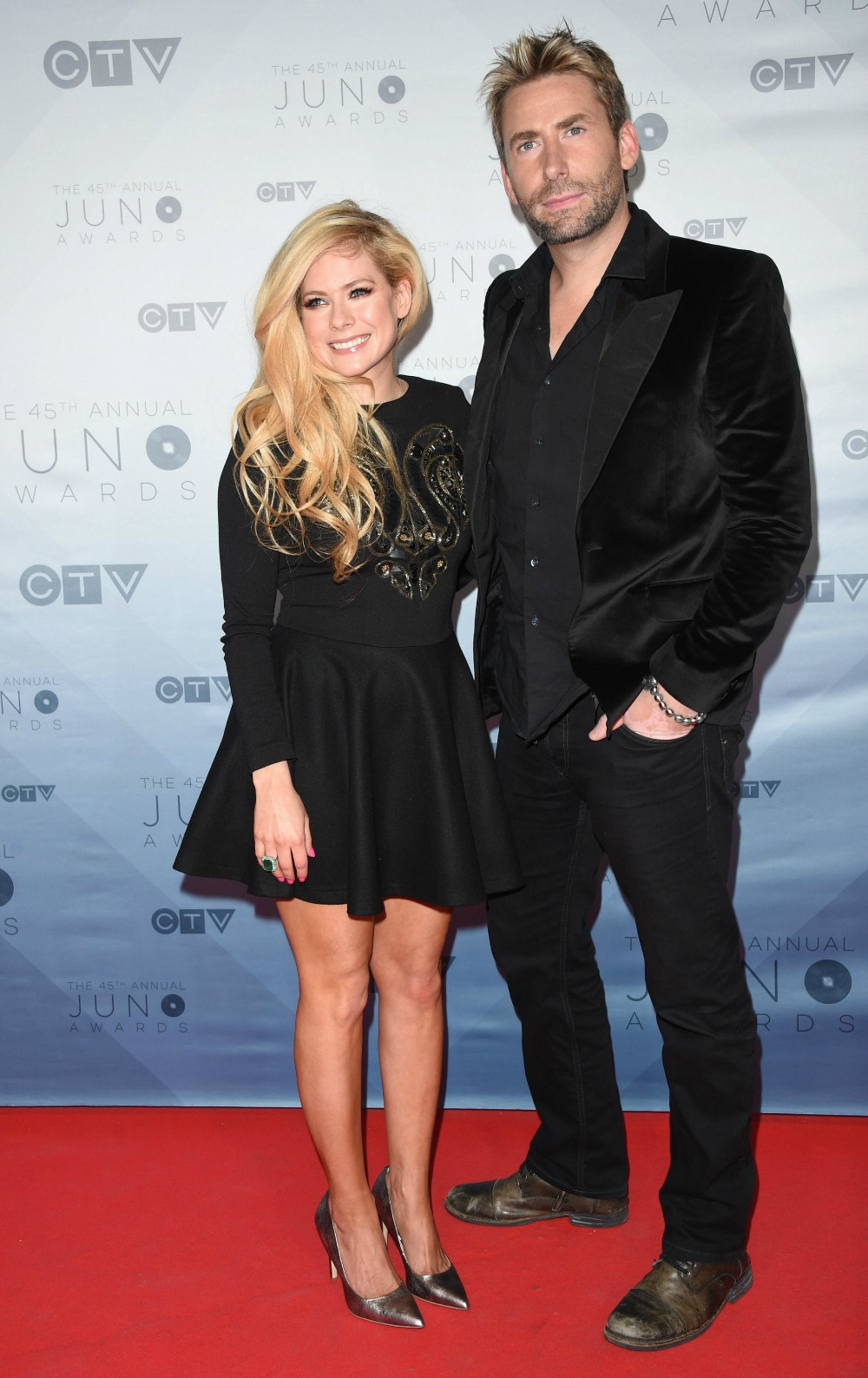 avril lavigne chad kroeger getty images