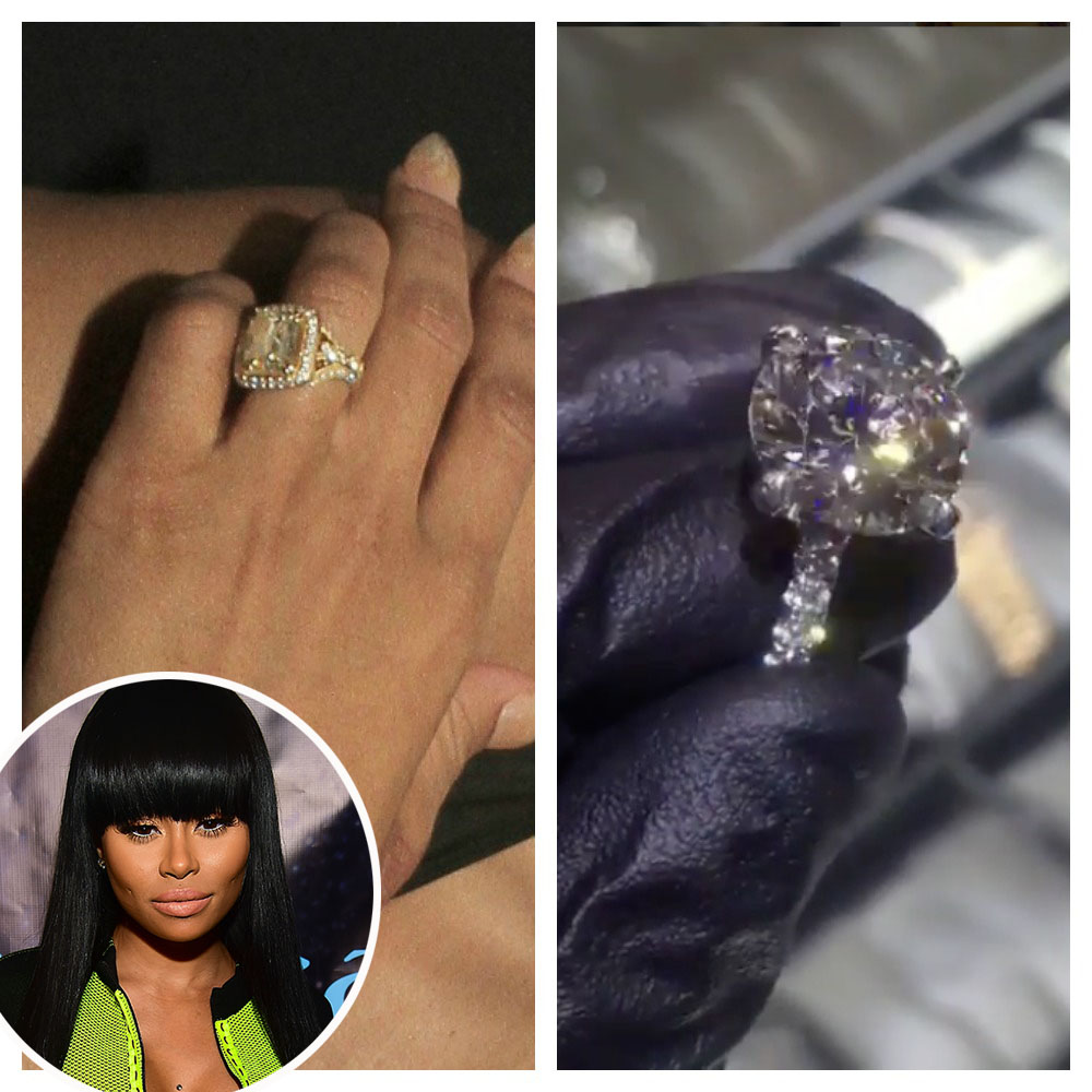 dd745b9d099c3 Ciara Shows Off Her Massive 16-Carat Engagement Ring From Russell ...