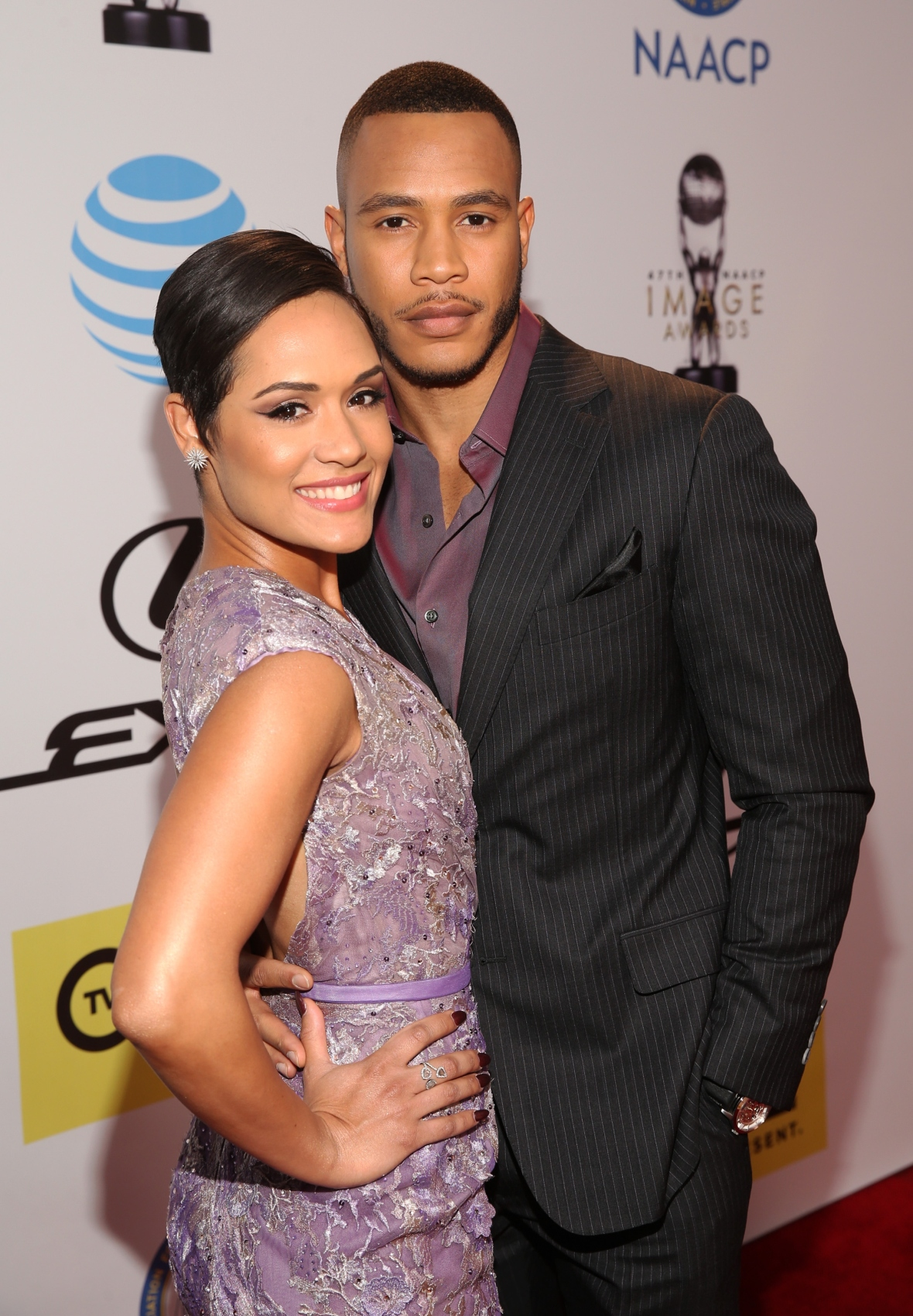 grace gealey and trai byers (getty)
