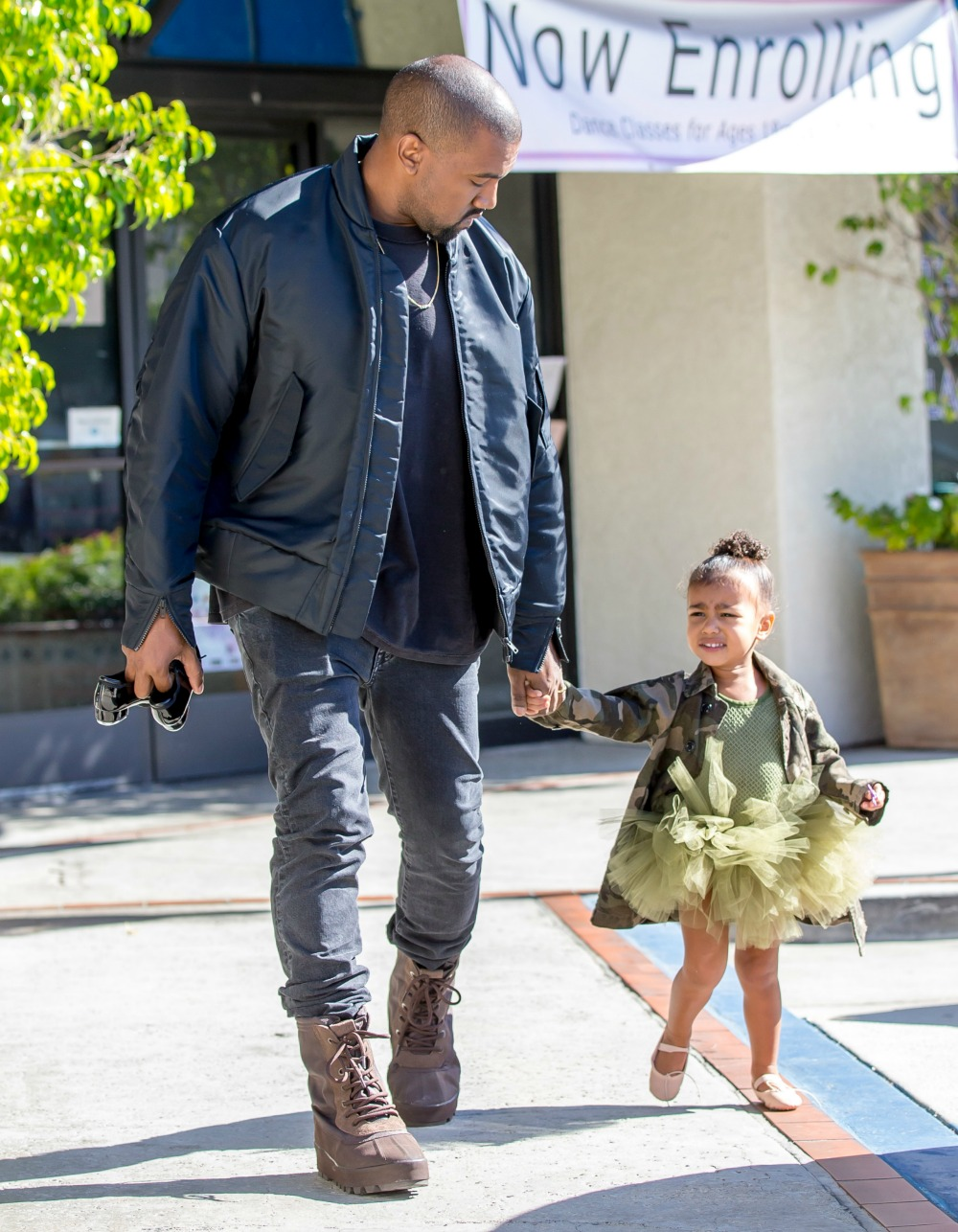 kanye west north west getty