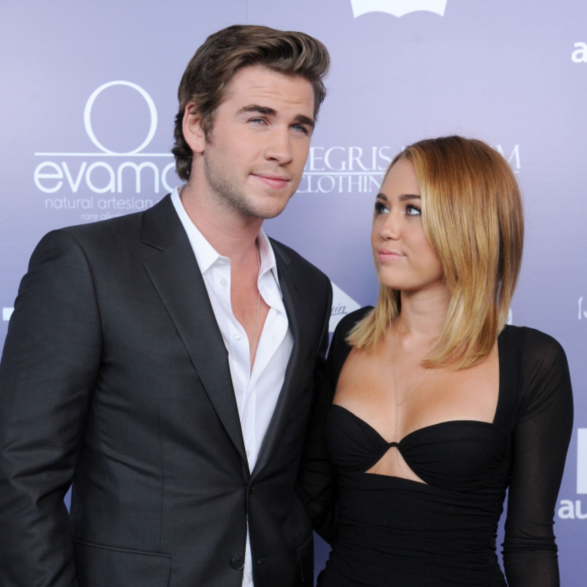 miley and liam getty images