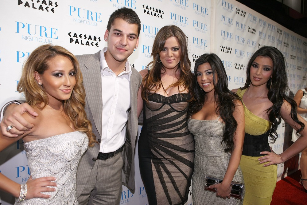 adrienne bailon kardashians getty