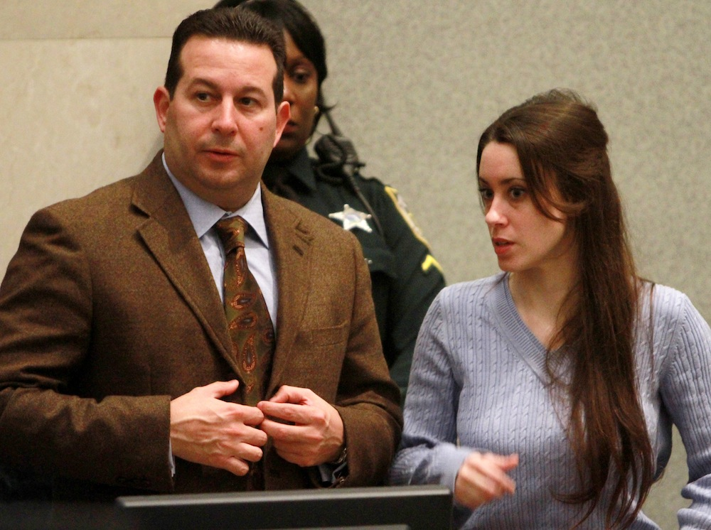 casey anthony, jose baez getty images