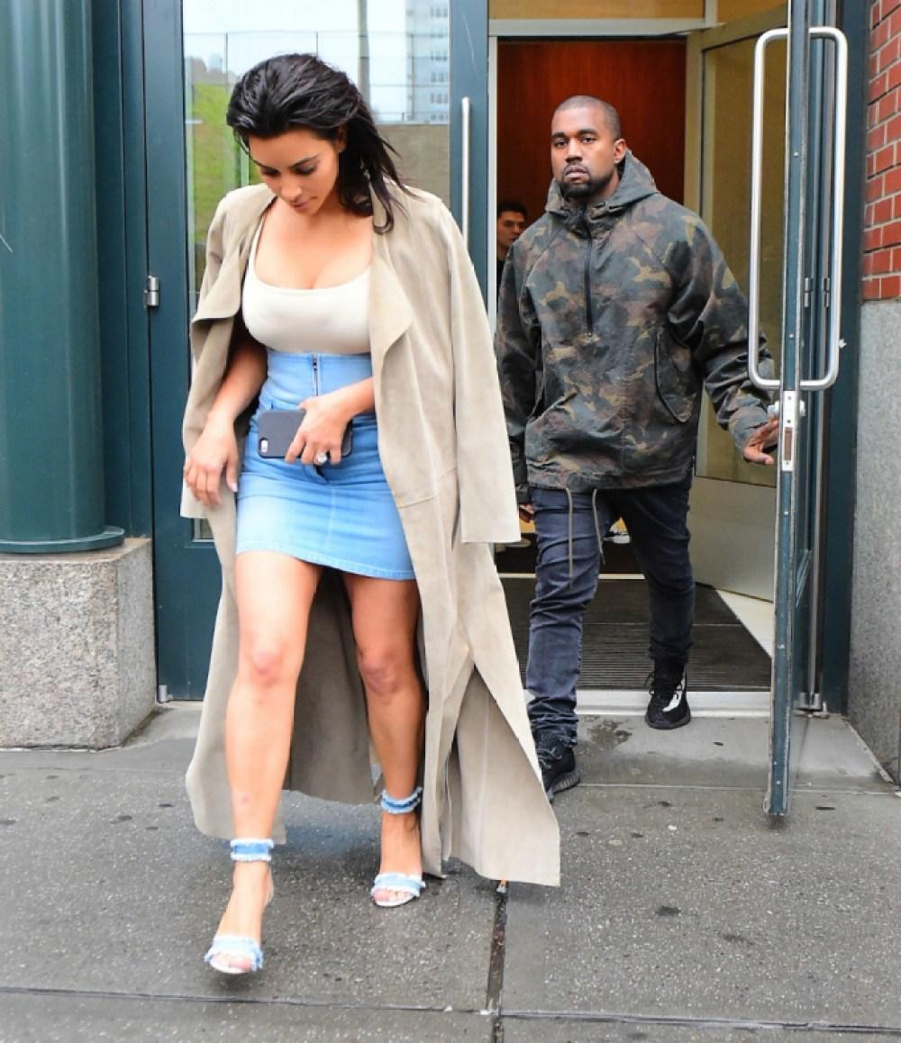kim kardashian kanye west splash