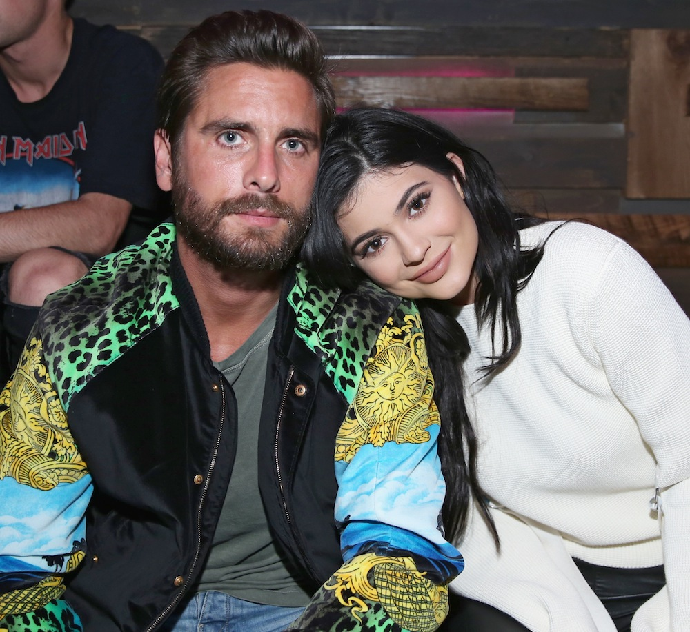 kylie jenner scott disick getty images