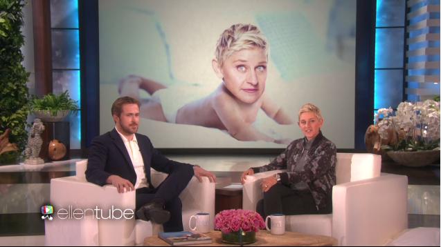 ryan gosling ellen degeneres youtube