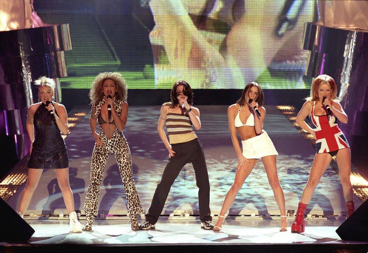 spice girls performance