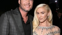 Gwen and Blake at an event
