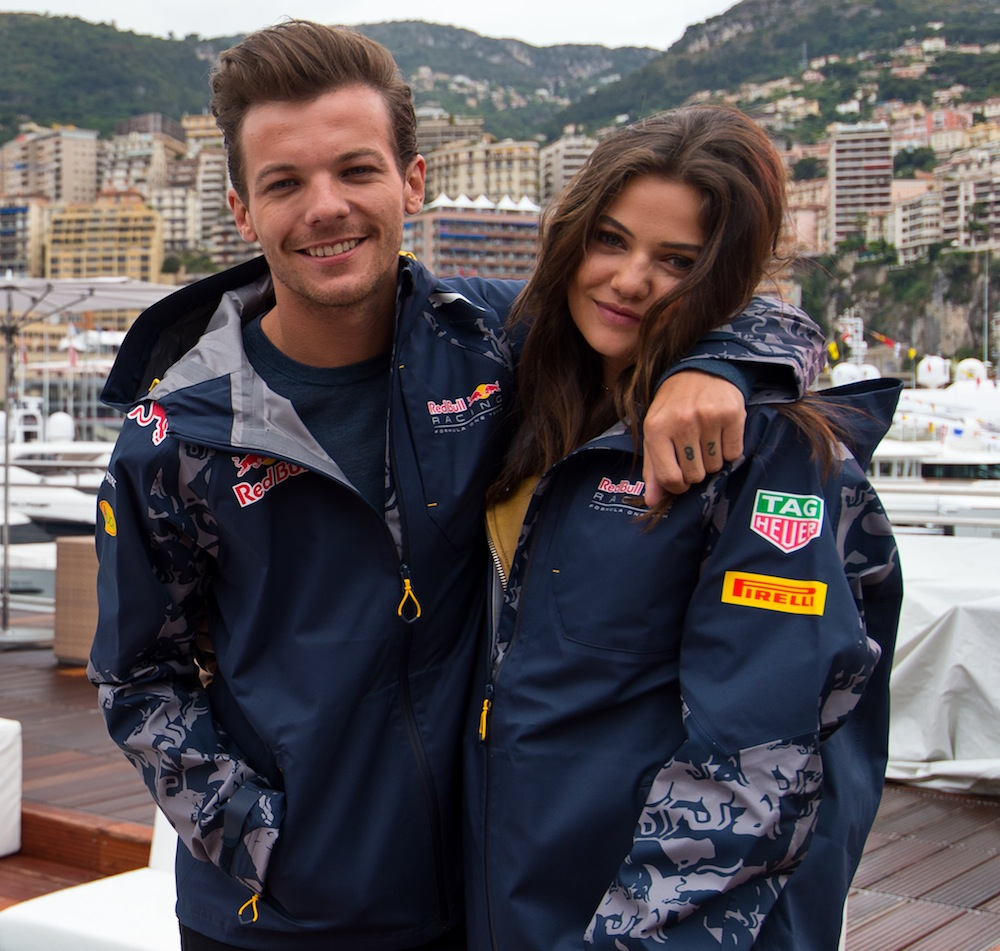 louis tomlinson danielle campbell getty images
