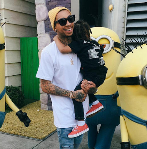 Tyga Demands Son King Cairo Gets Paid For Appearances On Rob