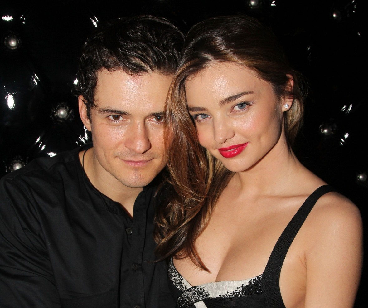 orlando bloom miranda kerr getty