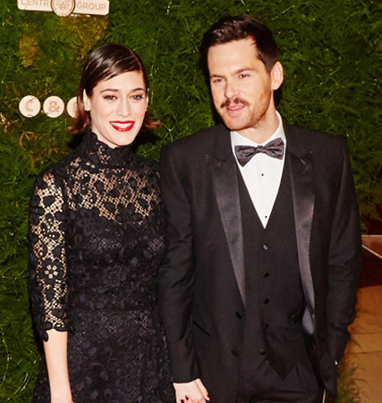 lizzy caplan tom riley getty images