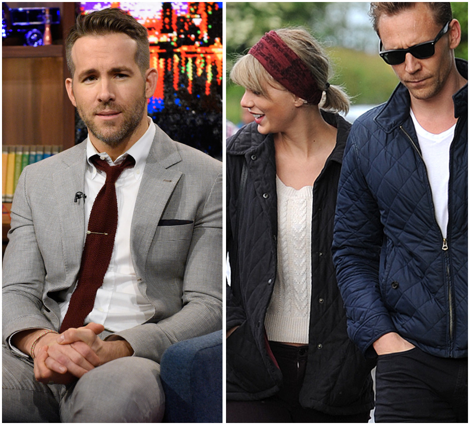 Ryan Reynolds Hilariously Reacts To Taylor Swift And Tom