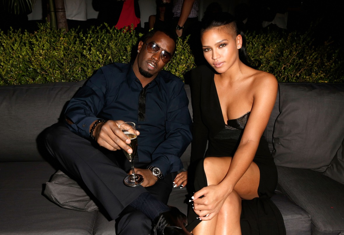 diddy cassie getty images