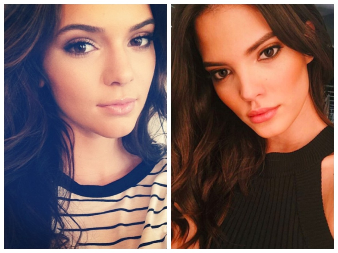 kendall jenner twin